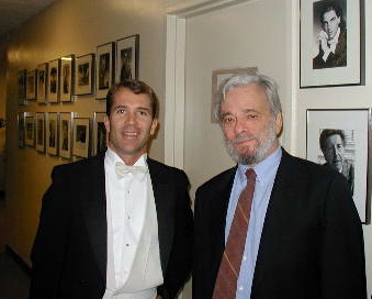 Peter Maleitzke and Stephen Sondheim